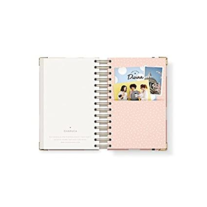 Charuca AG40 - Agenda 18-19, mediana, color rosa