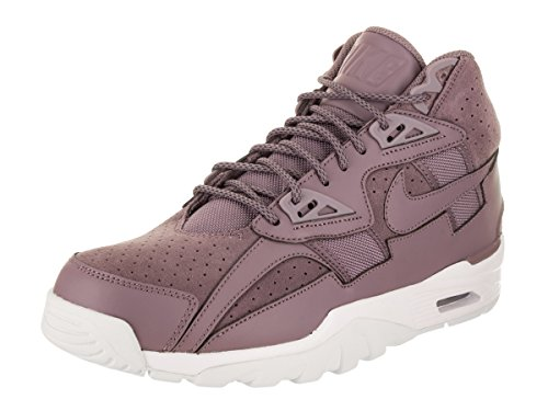 Nike Men's Air Trainer SC High Taupe/Grey/Taupe/Grey Training Shoe 9.5 Men US (Nike Sc Trainer Cross)