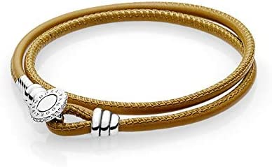 Pandora Moments Leather Bracelet 597194CGTD1 product image
