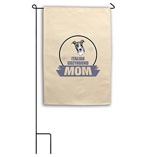 Mom Italian (Style in Print Canvas Yard House Garden Flag 18