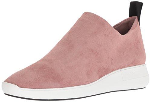 Via Spiga Womens Marlow Slip on Sneaker Blush Suede