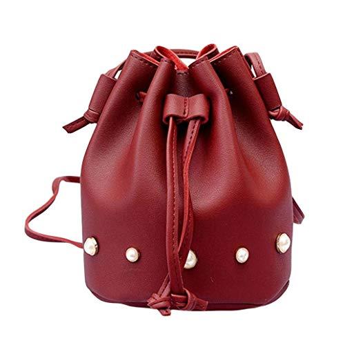 Gray Rosso tracolla donna colore secchi tracolla Messenger Borsa di borsa tracolla borsa Dimensione grande a tracolla a a Light moda Colore singola ragazze solido Vino capacità di borse Messenger x14Oq1f