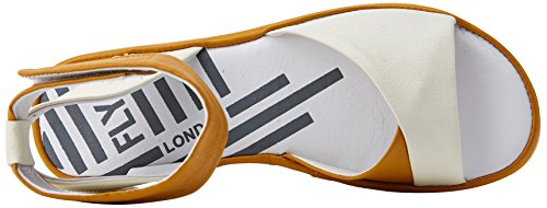 Women's Off London Mousse Honey Fly Sandal White BIBB854FLY qUpxIw5wPW