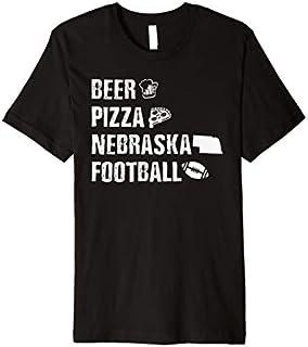 [Featured] Nebraska Football Lover Gift - Beer Pizza Nebraska Football Premium in ALL styles   Size S - 5XL