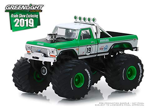Greenlight 2019 Trade Show Exclusive 1974 Ford F-250 Monster Truck #19 1/64 Diecast Model Truck 30006 (Best Of Show Diecast)