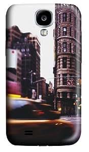 NYC Tixi Landscape Building United States Custom Samsung Galaxy I9500/Samsung Galaxy S4 Case Cover Polycarbonate 3D