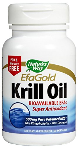 Natures Way Krill Oil Neptune 500Mg 60 Sg