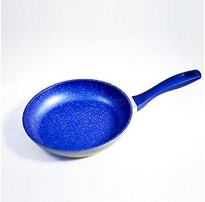 Sartén azul 28 cm flavorstone antiadherentes para cocinar sin grasas originales mediashopping Viste de TV