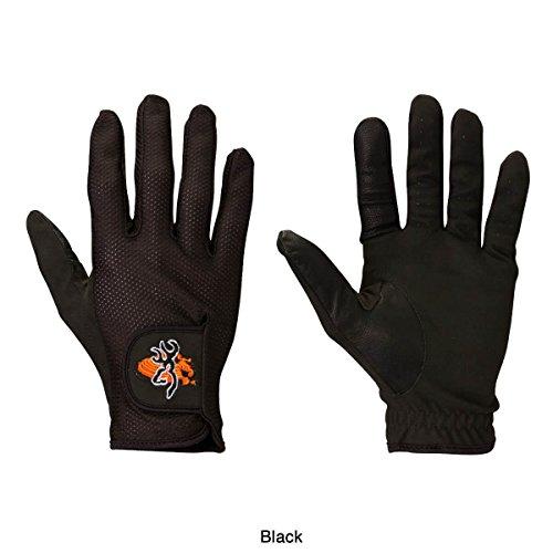 Browning, Mesh Back Shooting Gloves, Black, Small ()