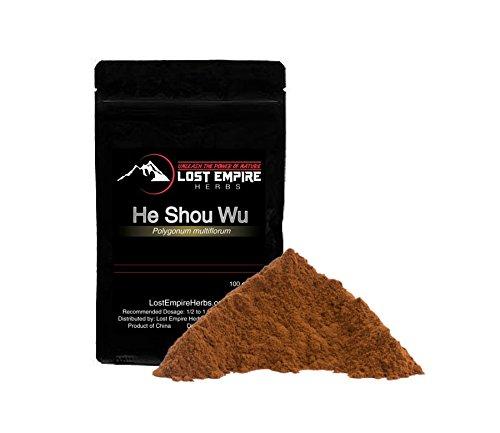 He Shou Wu Extract Powder - Anti-Aging Herb, Liver and Kidney Detox - Strengthens Muscles, Tendons, Immune System - Rich in Nitric Oxide to Support Mitochondrial Function (100 g)