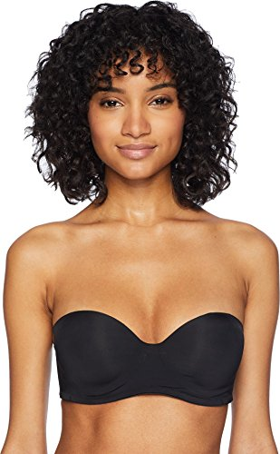 Natori Women's Underneath Strapless Bra, Black, 32DDD (Best Strapless Bra For 32ddd)
