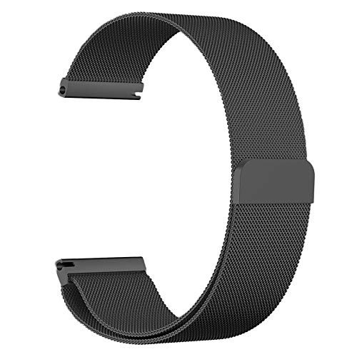 - Elven Street Milanese Stainless Steel Watch Band for Huawei Xiaome Samsun Smart Watch Mesh Band Bracelet 14/16/18/20/22mm with Hook Buckle Replacement Wristband - Multiple Color Size Options