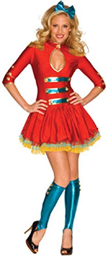 Spirit Majorette Womens Costume, Extra Small (Marching Band Halloween Costume)