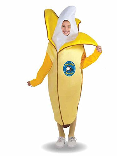 Forum Novelties Fruits and Veggies Collection Appealing Banana Child Costume, Medium]()