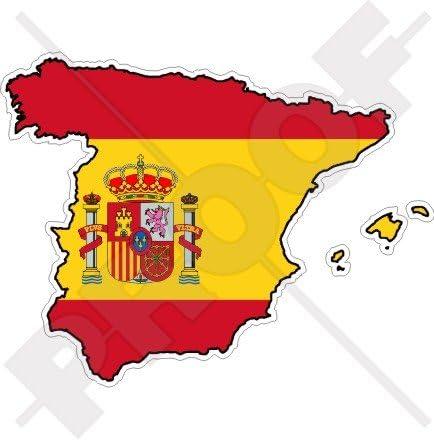 ESPAÑA Español Mapa-Bandera 4.7