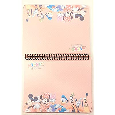 Party Favors Disney Mickey Minnie Mouse & Family Autograph Note Pads Memo Book- (Mickey & Family): Toys & Games