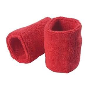 Gamma Sportline Single Wrist Bands, Red