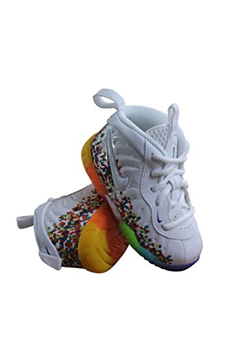 843769-101 INFANTS AND TODDLER LITTLE POSITE PRO (TD) NIKE WHITE COURT PURPLE