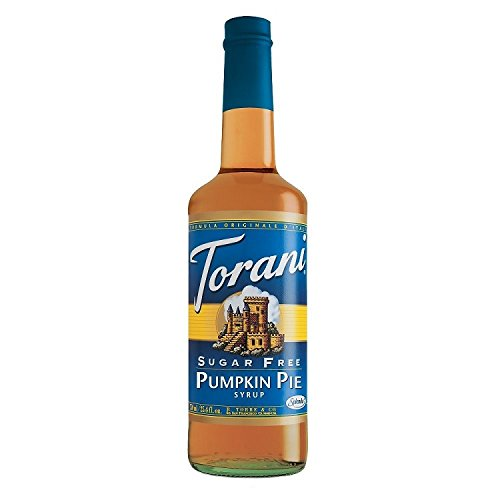 Sugar Free Torani Pumpkin Pie Syrup + Pump