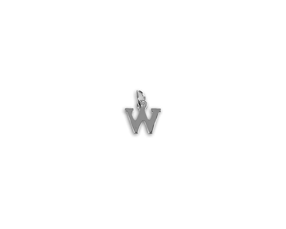 1 Charm - Retail Fundraising For A Cause Alphabet Letter W Charm