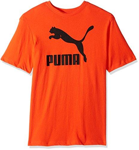PUMA Men's Archive Life T-Shirt, Cherry Tomato Black, XX-Large