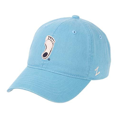 Zephyr NCAA Mens Relaxed Fit Scholarship- Adjustable Cotton Crew Hat Cap-North Carolina Tar - Cap Heels North Carolina Tar