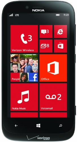 Nokia Lumia 822 16GB Windows Phone Black - Verizon