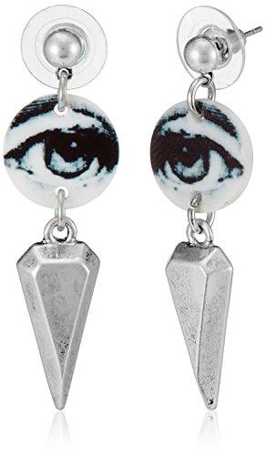 Funky Fish Drop Earrings for Women (Multicolor) (I-674_F7297473314526)