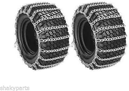 2 Link TIRE CHAINS /& TENSIONERS 23x8.5x12 for UTV ATV 4-Wheeler Utility Vehicle