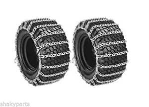 5572 Rotary Set of 2 26X12x12 Tractor Tire Chains 2 Link Spacing/#B4G341TG 32W4-15RTH564291