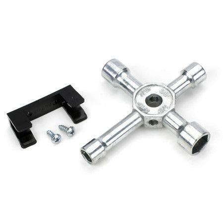 Du-Bro 701 4-Way Socket Wrench