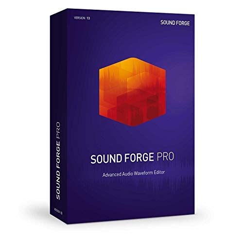 Sound Forge Pro - Version 13 - Audio Editing, Recording, Restoration and Mastering in One