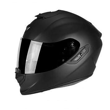 Scorpion Moto Casco Exo 1400 Air Solid Mat, Negro, Tamaño XL