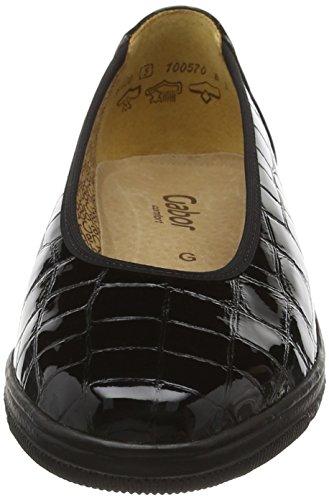 Gabor Shoes Comfort Basic, Mocasines para Mujer Negro (Schwarz 97)