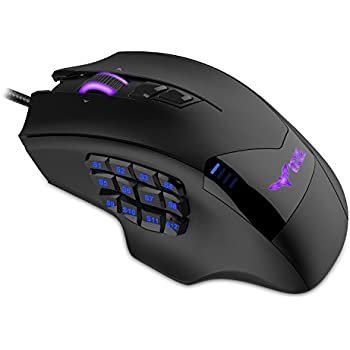 44009f4e211 SADES S7 USB Wired PC Mac Gaming Mouse Ergonomic Omron Micro Switches Gaming  Mice 6 Buttons