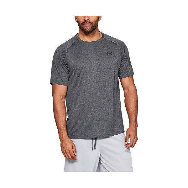 חולצת ספורט קצרה לגברים בעלת חומר מנדף זיעה עכשיו באתר tennisnet !