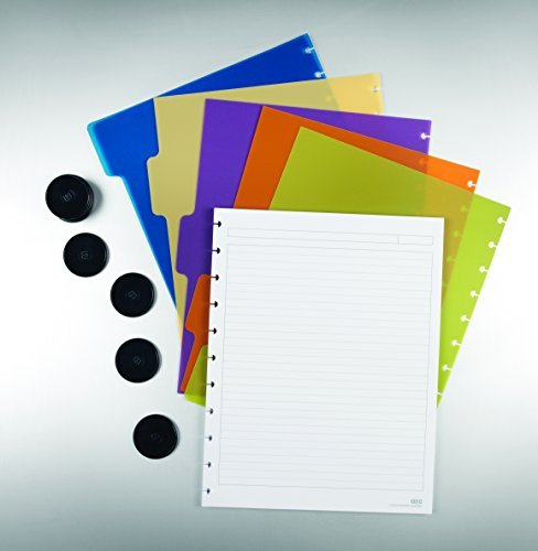 Staples? Arc Notebook System Accessory Kit, Letter Size, Includes Paper, Dividers, and Rings