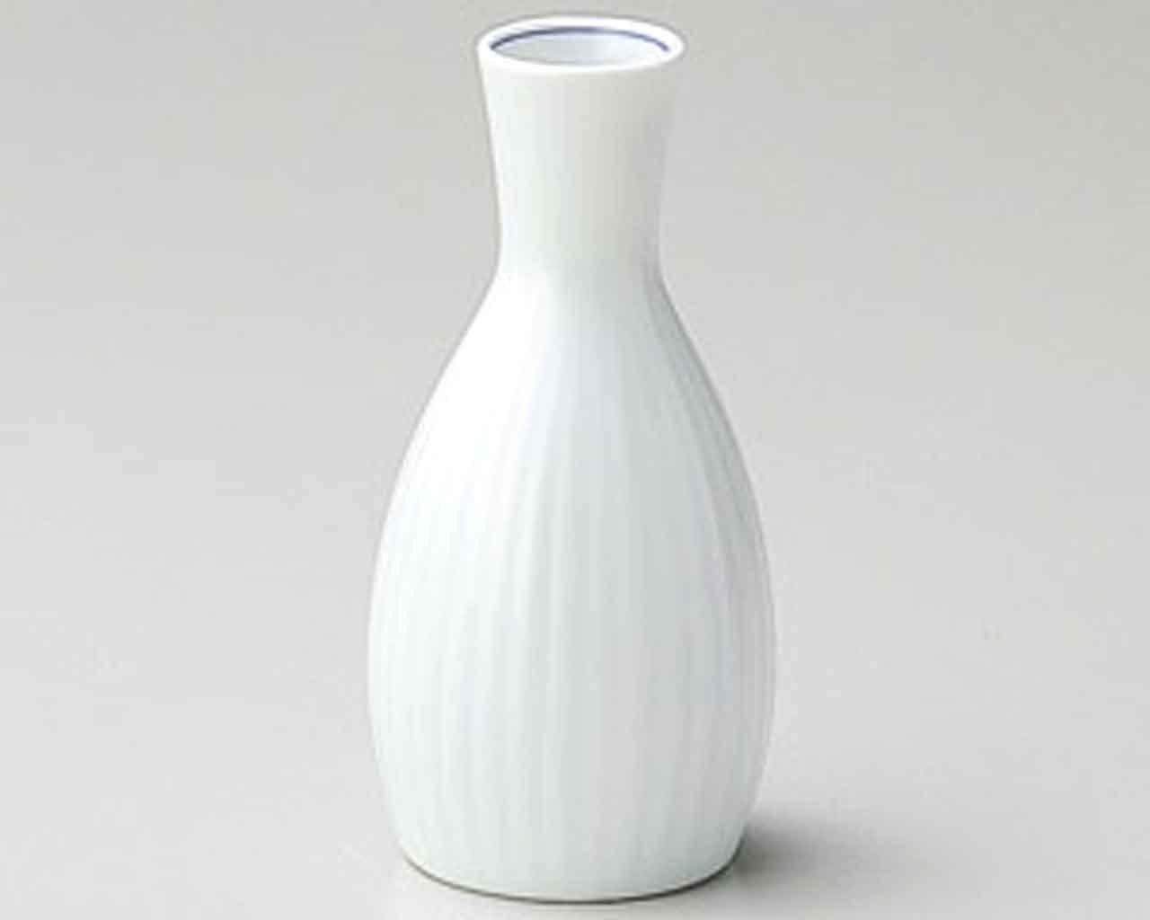 Seihakuji 3.5inch Set of 5 Sake carafes White porcelain Made in Japan