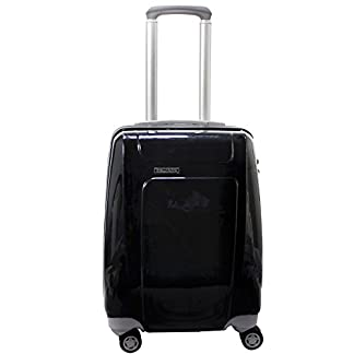 Piquadro Trolley Odissey Negro / Gris