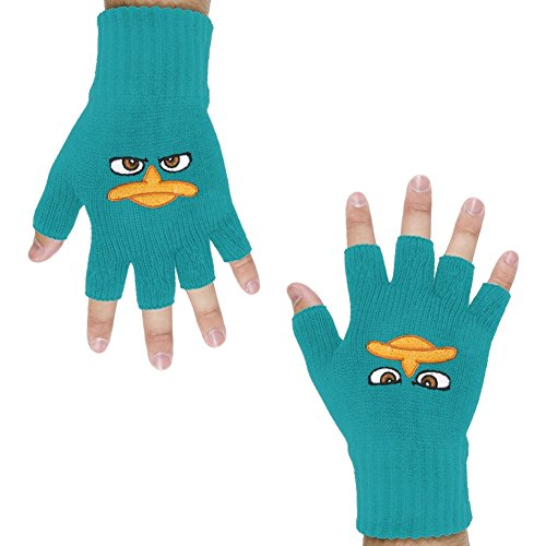 Phineas & Ferb - Perry Face Fingerless -