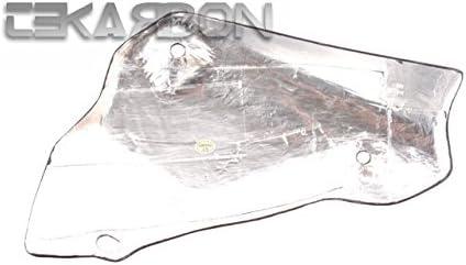 Red Kevlar 2007-2012 Ducati 1198 1098 848 Carbon Fiber Exhaust Cover
