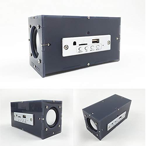 Esenlong Draagbare luidspreker Bluetooth luidspreker DIY Kit MP3 muziek Pack Stereo Sound 3W Mini Power versterker met…