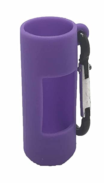 Amazon.com: Púrpura Holder Clip de silicona para botellas de ...