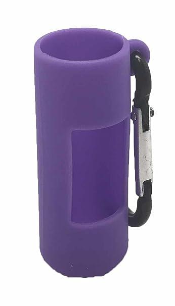 Amazon.com: Púrpura Holder Clip de silicona para botellas de ...
