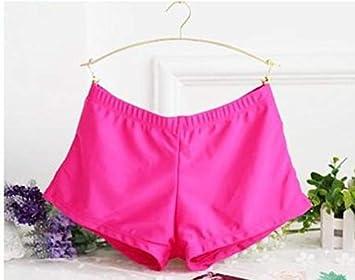 2dd9a05b8c Image Unavailable. 1PCS New Ladies Plain Swim Shorts Bikini Swimwear Boy ...