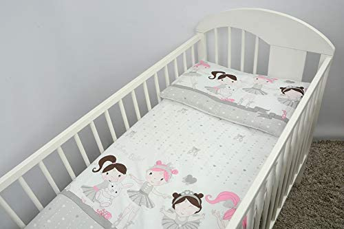 10 2 Piece Baby Children Quilt Duvet /& Pillow Set 120x90 cm to fit Toddler Cot Bed