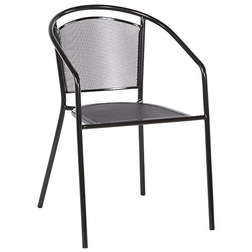 (Alfresco Home Martini Cafe Stackable Patio Dining Chair (Set of 4))