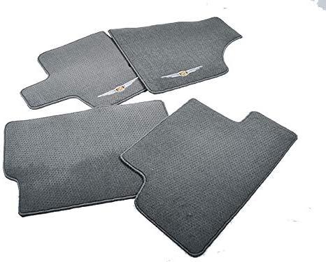 Coverking Custom Fit Front Floor Mats for Select Scion tC Models Black Nylon Carpet