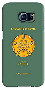 Stylizedd Samsung Galaxy S6 Premium Slim Snap case cover Gloss Finish - GOT House Tyrell