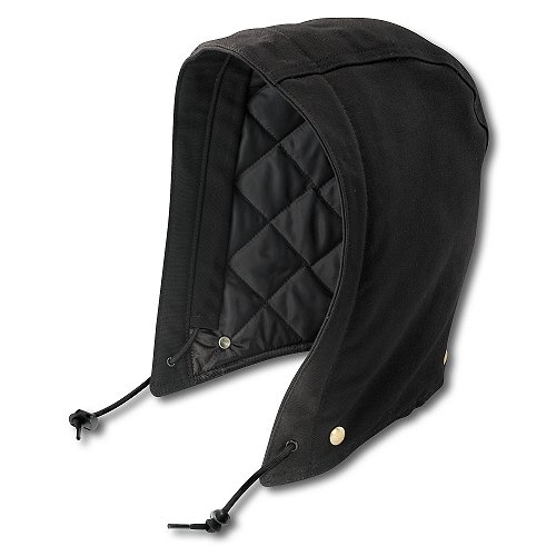 Carhartt Men's Quilt-Lined Duck Hood,Black,One Size (Hood Carhartt compare prices)